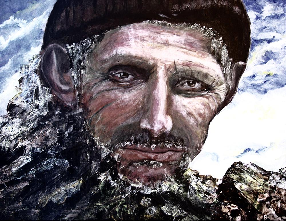 mountain man by komlaish achall